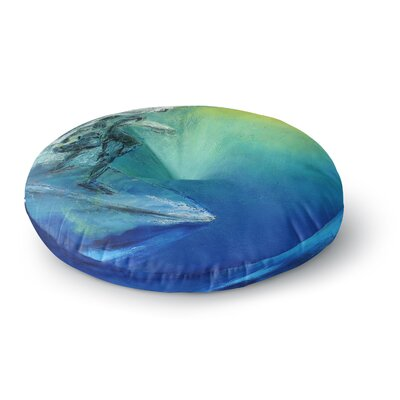 Josh Serafin September High Round Floor Pillow Size: 26 x 26