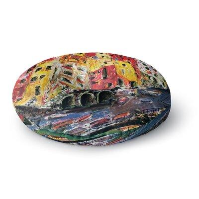 Josh Serafin Cinque Terre Round Floor Pillow Size: 26 x 26