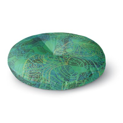 Patternmuse Mandala Abstract Round Floor Pillow Size: 26 x 26