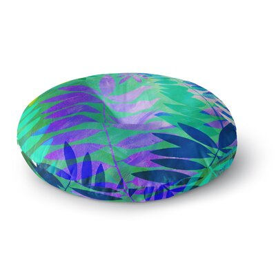 Jessica Wilde Jungle Round Floor Pillow Size: 23 x 23