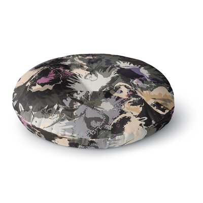 Jessica Wilde Punk Floral Round Floor Pillow Size: 23 x 23