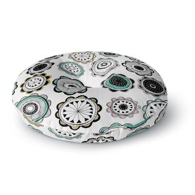 Jessica Wilde Carnival Round Floor Pillow Size: 26 x 26