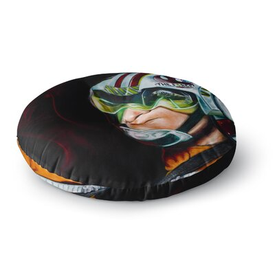 Jared Yamahata Awakened  People Round Floor Pillow Size: 26 x 26