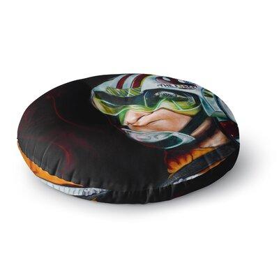 Jared Yamahata Awakened  People Round Floor Pillow Size: 23 x 23