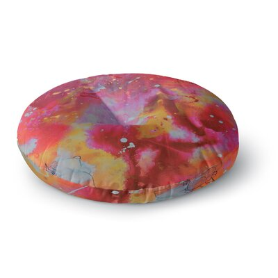 Kira Crees Falling Paradise Round Floor Pillow Size: 26 x 26