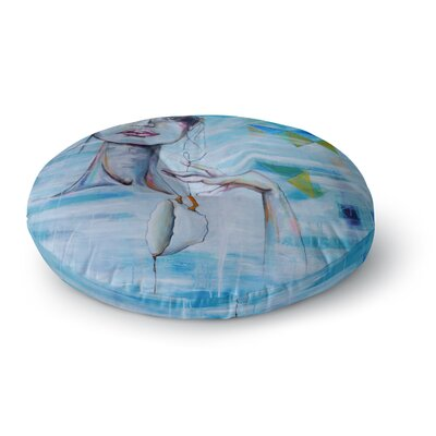 Kira Crees Alice People Painting Round Floor Pillow Size: 26 x 26
