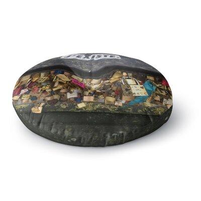 Luvprintz Jexiste Round Floor Pillow Size: 23 x 23