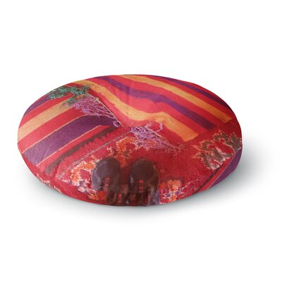 Luvprintz Carpet Round Floor Pillow Size: 23 x 23