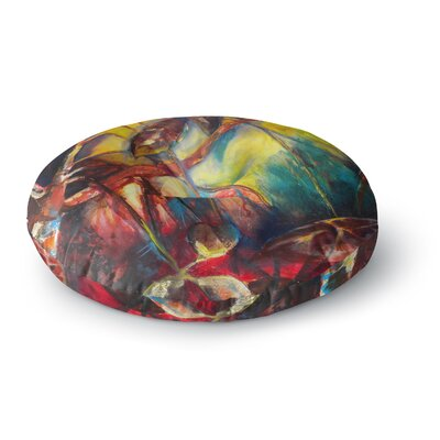 Kristin Humphrey Growth Round Floor Pillow Size: 23 x 23