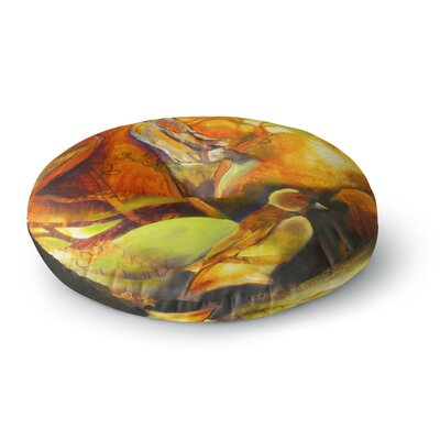 Kristin Humphrey Reflecting Light Round Floor Pillow Size: 26 x 26