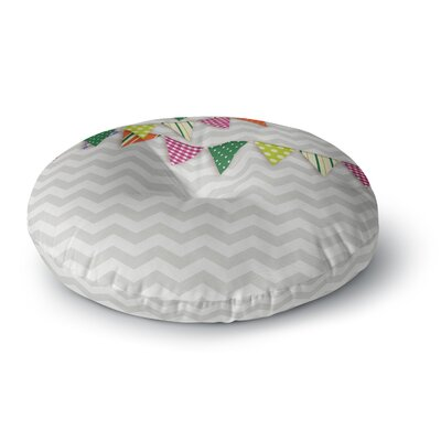 Flags 1 Round Floor Pillow Size: 23 x 23