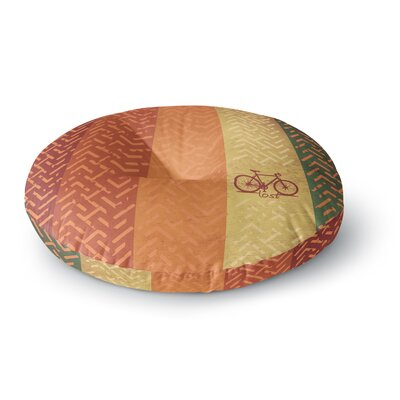 Lost Round Floor Pillow Size: 23 x 23