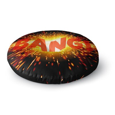Bang Round Floor Pillow Size: 23 x 23