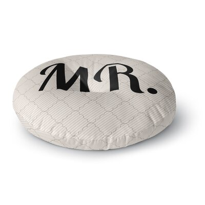 MR Round Floor Pillow Size: 23 x 23