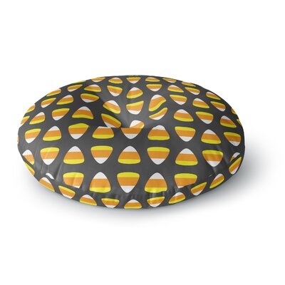 Kandy Korn - Pattern Round Floor Pillow Size: 26 x 26