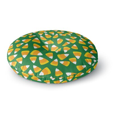 Kandy Korn - Round Floor Pillow Size: 26 x 26