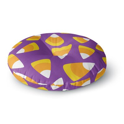 Kandy Korn - Round Floor Pillow Size: 23 x 23