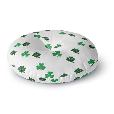 Shamrockin St. Patrick Round Floor Pillow Size: 23 x 23