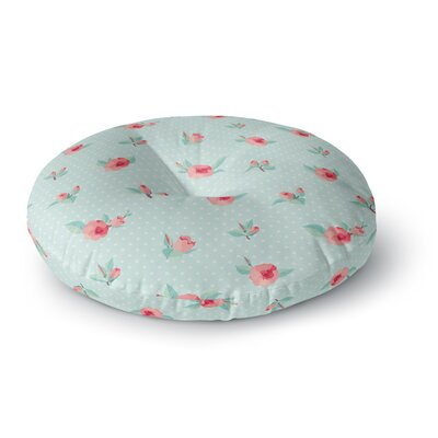 Happy Easter II Springtime Round Floor Pillow Size: 26 x 26
