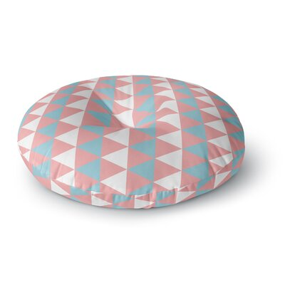 Be Still Round Floor Pillow Size: 26 x 26
