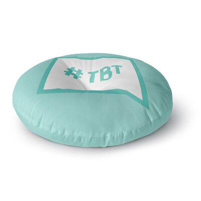 Throw Back Thursday Round Floor Pillow Size: 23 x 23