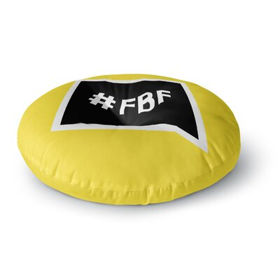 Flash Back Friday Round Floor Pillow Size: 26 x 26