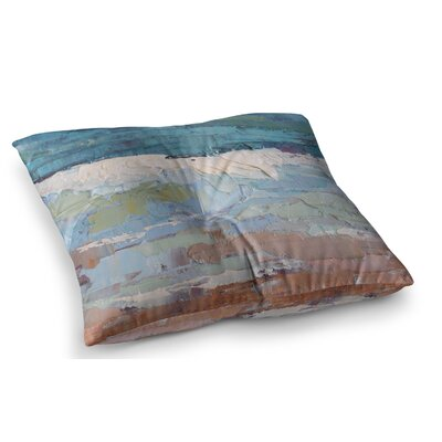 Surf Dreams Painting by Carol Schiff Floor Pillow Size: 26 x 26