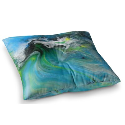 Abstract by Carol Schiff Floor Pillow Size: 26 x 26