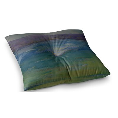 Mountains by Cyndi Steen Floor Pillow Size: 23 x 23