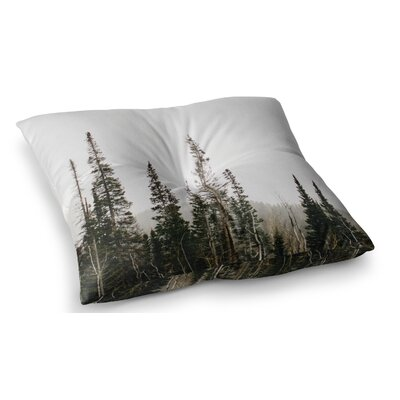 Top of the Mountain Photography by Chelsea Victoria Floor Pillow Size: 23 x 23