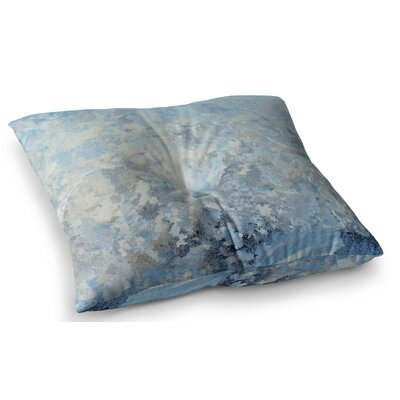 Frosted Marble Photography by Chelsea Victoria Floor Pillow Size: 26 x 26