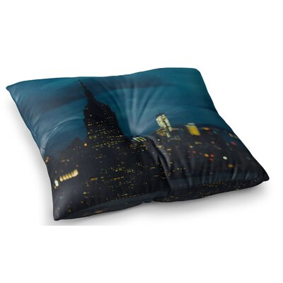 New York Nights Photography by Chelsea Victoria Floor Pillow Size: 23 x 23
