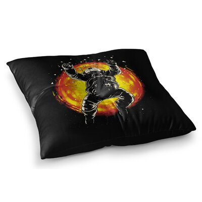 Lost in the Space Digital by Digital Carbine Floor Pillow Size: 23 x 23