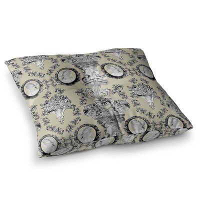 Imperial Palace by DLKG Design Floor Pillow Size: 23 x 23