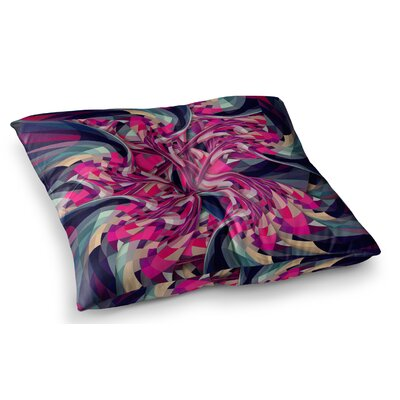 Spiral Geometric by Danny Ivan Floor Pillow Size: 23 x 23