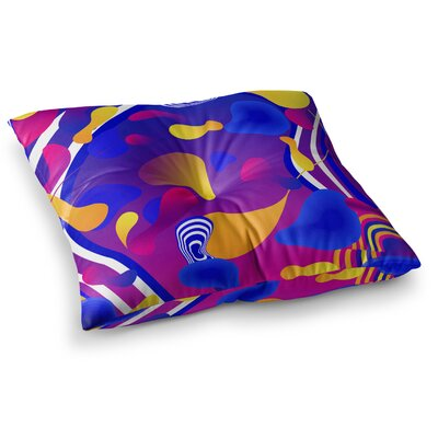 Bubbles by Danny Ivan Floor Pillow Size: 26 x 26