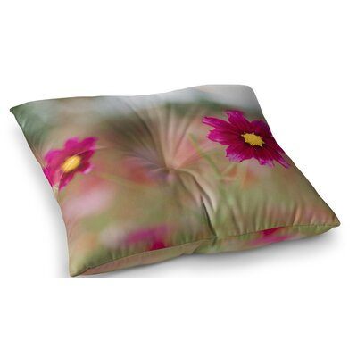 Wild for You Floral Photography by Chelsea Victoria Floor Pillow Size: 26 x 26