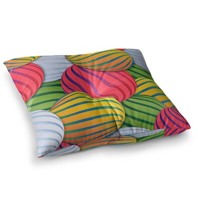 Melons by Danny Ivan Floor Pillow Size: 23 x 23
