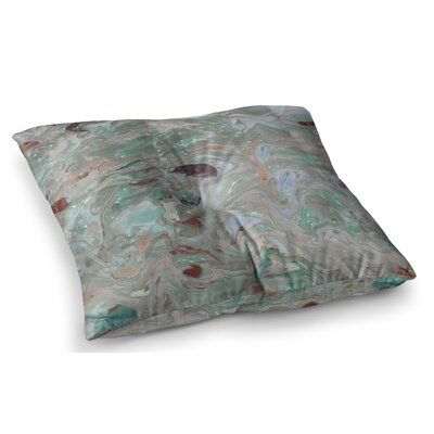 Nude Marble by Danii Pollehn Floor Pillow Size: 23 x 23