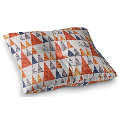 Tepee Town by Daisy Beatrice Floor Pillow Size: 26 x 26