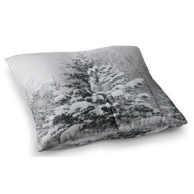 Cool Yule Nature Photography by Chelsea Victoria Floor Pillow Size: 23 x 23
