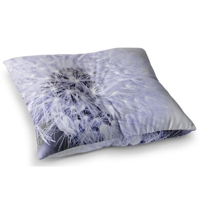 Wish Flower by Debbra Obertanec Floor Pillow Size: 23 x 23