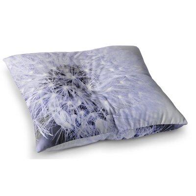 Wish Flower by Debbra Obertanec Floor Pillow Size: 26 x 26