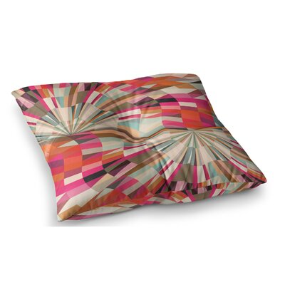 Convoke Geometric by Danny Ivan Floor Pillow Size: 26 x 26