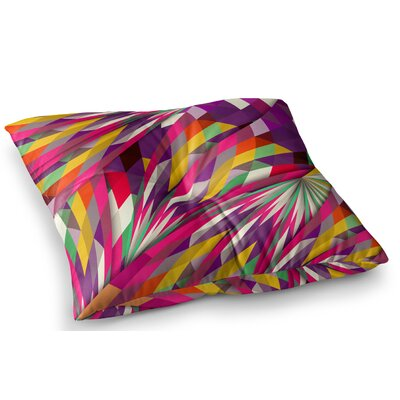 Sweet Geometric by Danny Ivan Floor Pillow Size: 23 x 23
