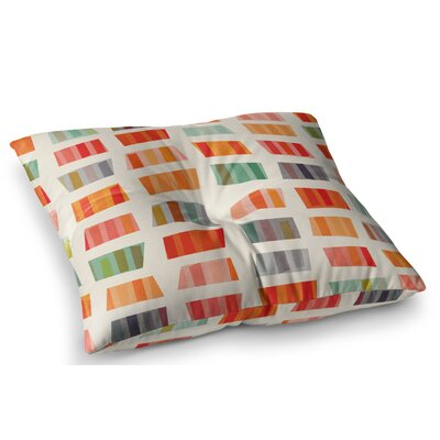 Beach Towels by Daisy Beatrice Floor Pillow Size: 23 x 23