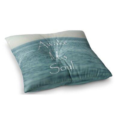 Awake My Soul by Debbra Obertanec Floor Pillow Size: 23 x 23