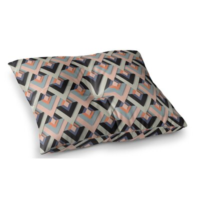 Sweet and Sharp by Akwaflorell Floor Pillow Size: 23 x 23