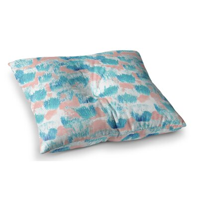 Mermaid Skin by Danii Pollehn Floor Pillow Size: 26 x 26