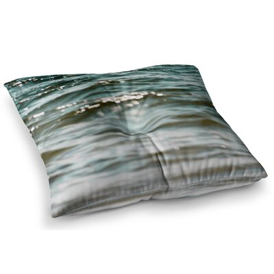 Water by Debbra Obertanec Floor Pillow Size: 26 x 26